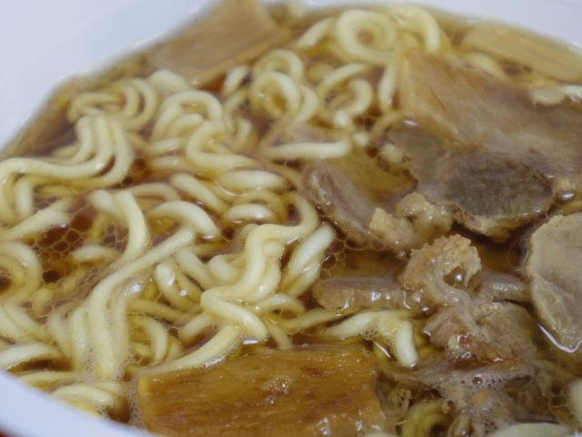 マルちゃん飯田商店醤油ラーメン6