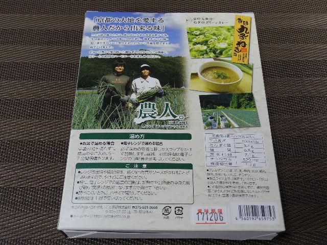 京の九条のねぎのグリーンカレー2