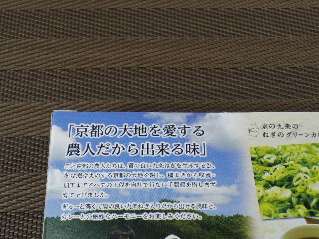 京の九条のねぎのグリーンカレー3