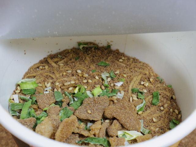 狸穴ラー油肉蕎麦4