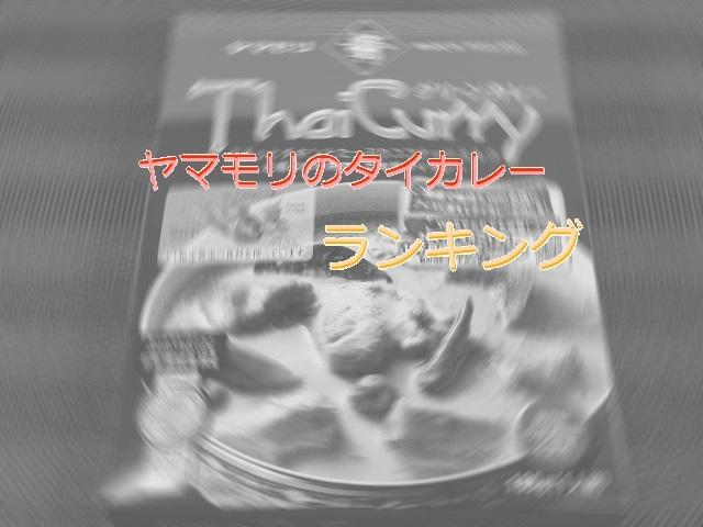 ヤマモリ タイカレー ブログ用