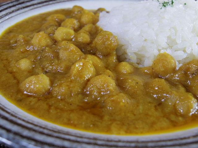 印度伝統料理人ひよこ豆のカレーチャナマサラ 中身2