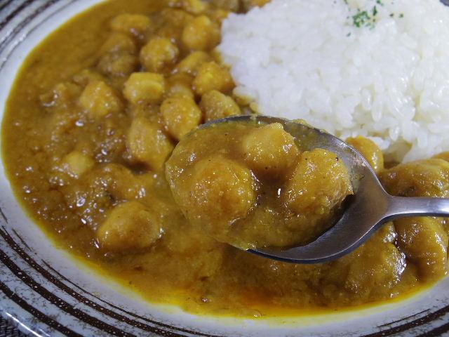 印度伝統料理人ひよこ豆のカレーチャナマサラ 中身3