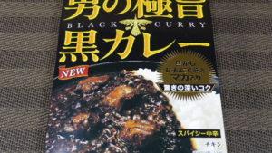 レトルトカレー!:明治「男の極旨黒カレー」を食べてみる。